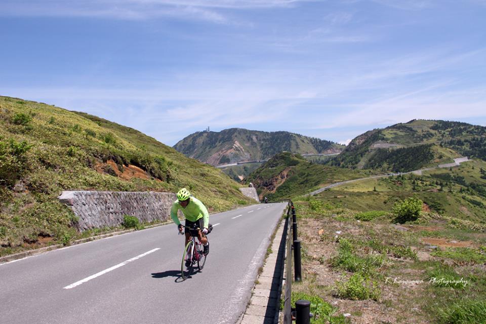 サイクリストの聖地のひとつです。