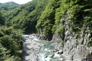 秋山郷を巡る日帰り旅