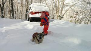 雪のち快晴