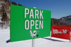 ハイカスケードパーク 明日Open!!