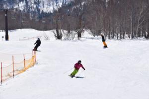 春スキーは奥志賀へ