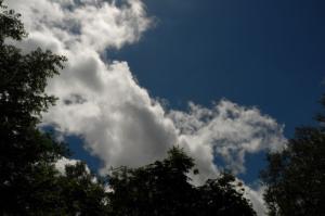 誘われる空の青