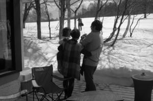 家族で集う、奥志賀の春。
