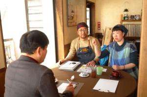 宝島社発刊『田舎暮らしの本6月号』、取材。