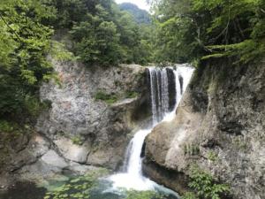 【彩香のインターンシップ日記Ⅴ】奥志賀渓谷、大滝(おおぜん)に躍動。