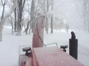 えっ?20㎝弱の粉雪です。