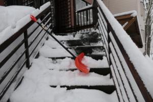 嬉し!3月の雪下ろし。