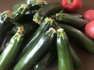 ゴロゴロ、夏野菜。