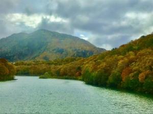 志賀高原の秋、見頃中。