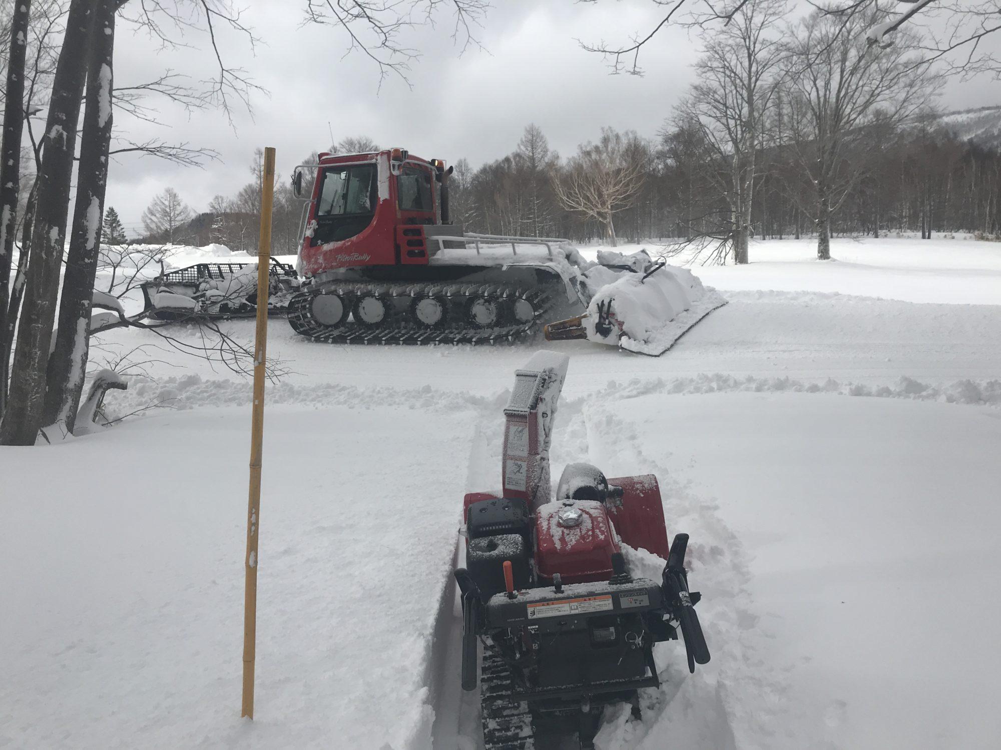 2020 feb 圧雪車よ、help!!