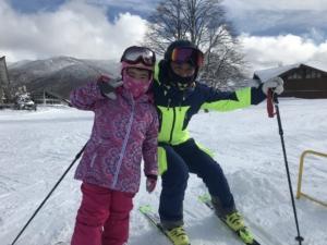 アタチをスキーに連れてって。