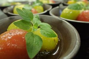 暑い夏にゃぁ夏野菜さ。
